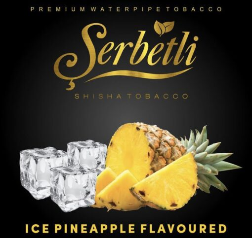 serbetli ice pineapple