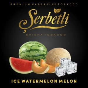 Табак Serbetli Ice watermelon melon - Айс арбуз дыня