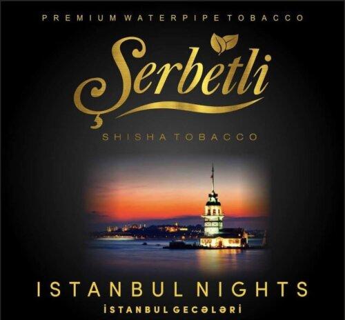 Табак Serbetli Istanbul nights - Стамбульские ночи