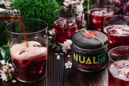 Табак Nual Cherry soda (Вишневая газировка) 200 грамм