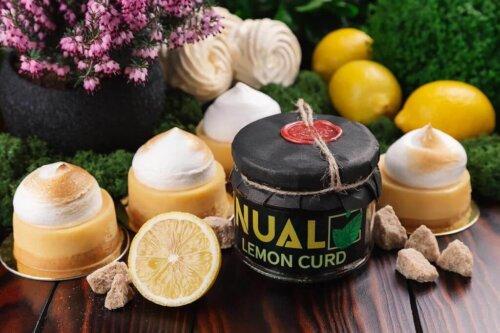 Табак Nual Lemon curd 200 грамм
