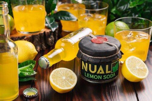 Табак Nual Lemon Soda (Лимонная газировка) 200 грамм