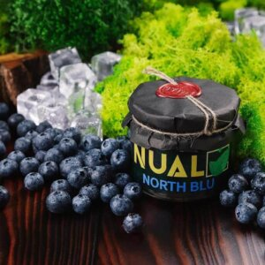 Табак Nual North blue (Холодная черника) 200 грамм