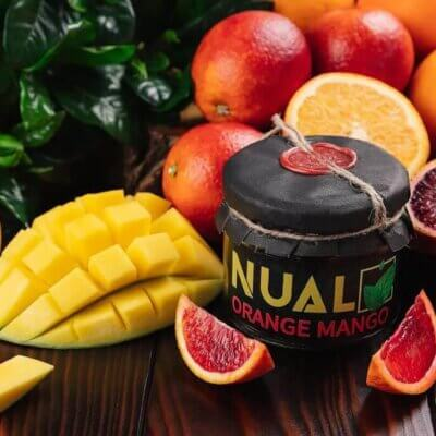 Табак Nual orange mango (Апельсин манго) 200 грамм