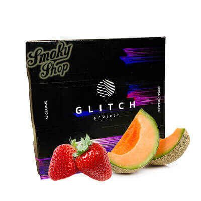 Табак Glitch Дыня клубника 50 грамм