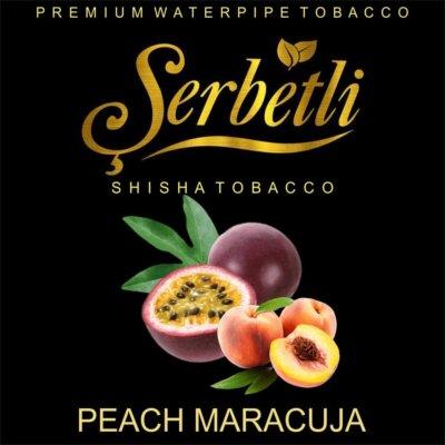 Табак Serbetli Peach Maracuja (Персик Маракуйя) 50 грамм