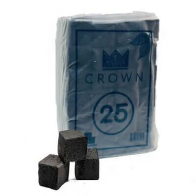 Кокосовый уголь crown 1 кг (без упаковки)