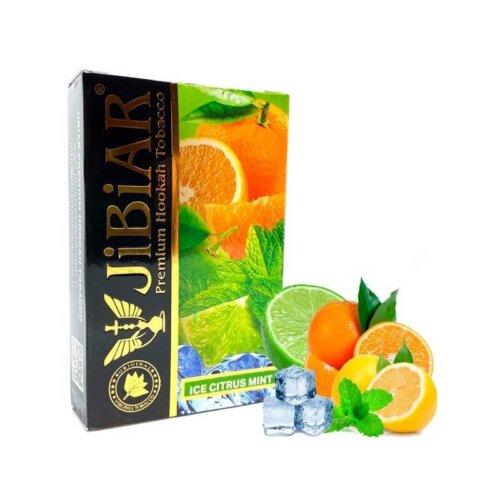 Табак Jibiar ice citrus mint - айс цитрус мята 50 грамм