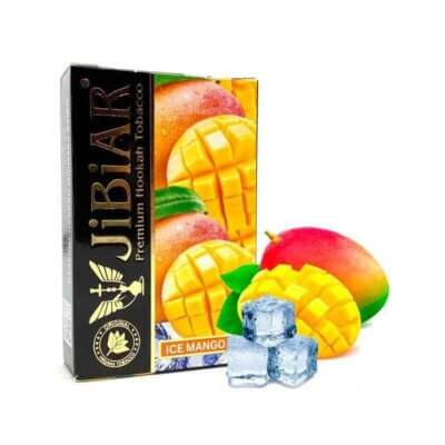 Табак Jibiar ice mango - айс манго 50 грамм