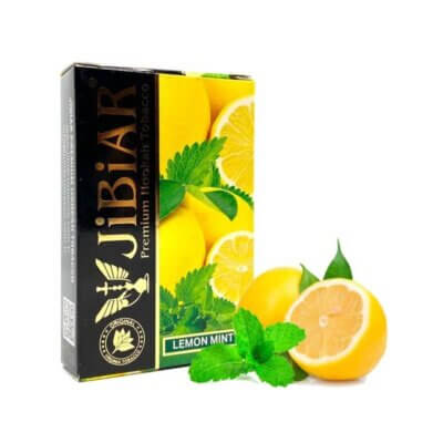 Табак Jibiar Lemon mint (Лимон мята) 50 грамм