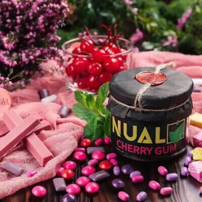 Табак Nual Cherry gum (Вишневая жвачка)