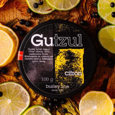 Табак Gutzul Citron - Лимон лайм джин