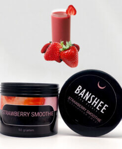 Banshee Dark Strawberry smoothie - клубничный смузи