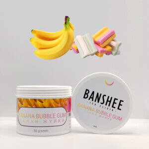 Табак Banshee Banana bubble gum - Банан жвачка
