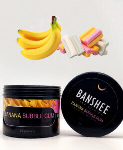 Banshee Dark Banana Bubble gum - Банан жвачка