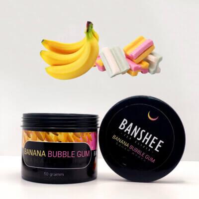 Banshee Dark Banana Bubble gum - Банан жвачка