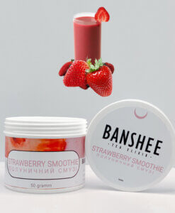 Табак Banshee Strawberry Smoothie - Клубничный смузи