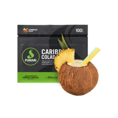 Табак Fumari Caribbean Colada (Карибиан Колада)