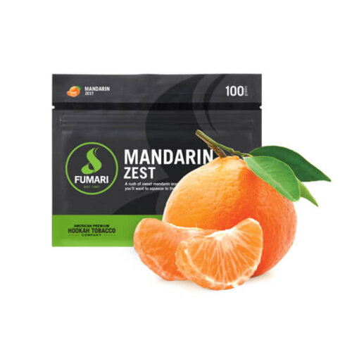 Табак Fumari Mandarin zest - Мандарин зест
