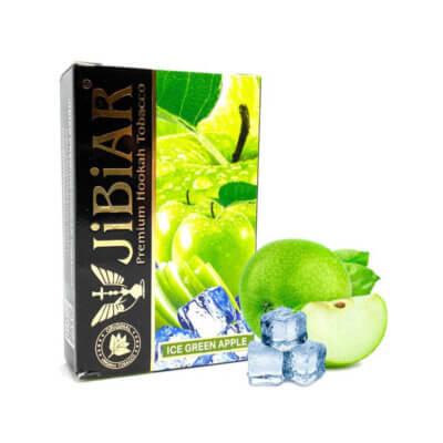 Табак Jibiar ice green apple - Айс зеленое яблоко