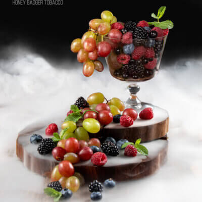 Табак Honey Badger Grape and berries - Виноград с ягодами