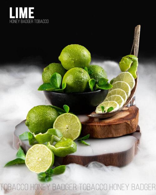 Табак Honey Badger Lime - Лайм