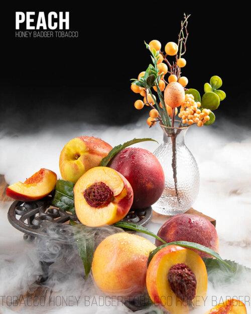 Табак Honey Badger Peach - Персик