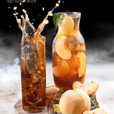 Табак Honey Badger Peach ice tea - Персиковый чай