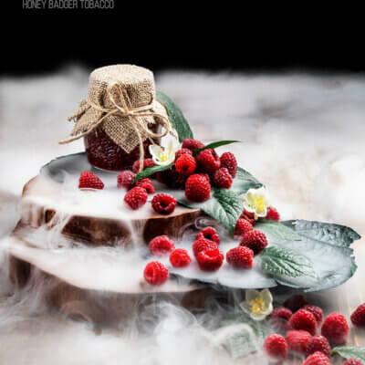 Табак Honey Badger Raspberry - Малиновый мус