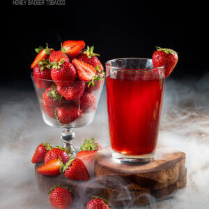 Табак Honey Badger Strawberry - Клубника