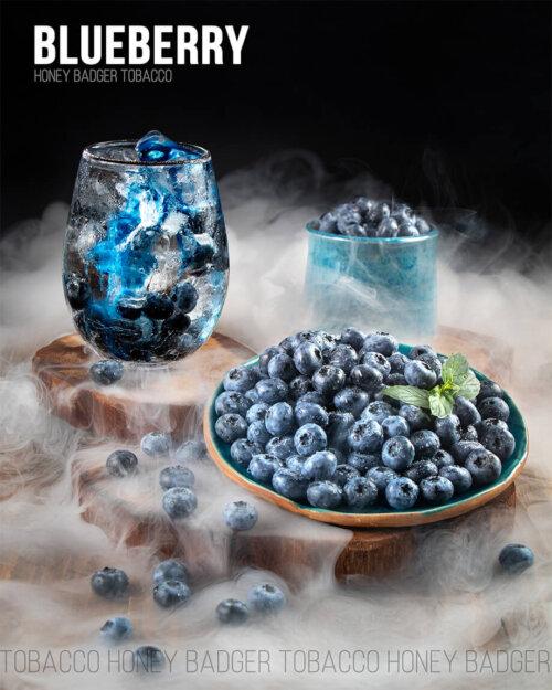 Табак Honey Badger Blueberry - Черника
