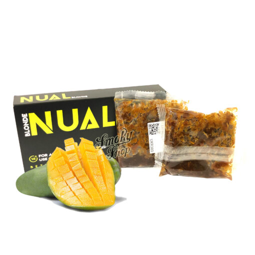 Табак Nual Harsh mango 100g - зеленый манго