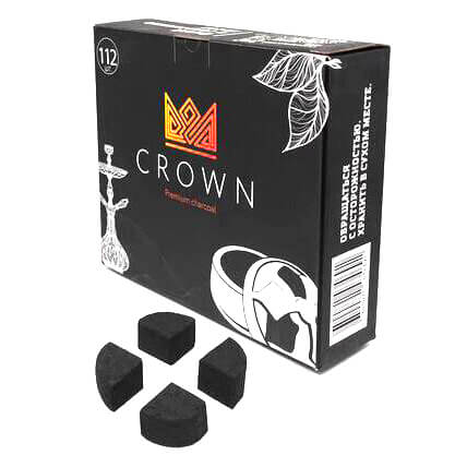 Уголь для кальяна Crown Kaloud edition 112 штук