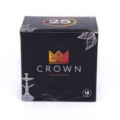 Уголь для кальяна Crown 18 шт.