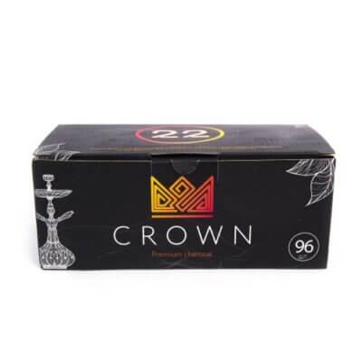 Уголь для кальяна Crown 96 шт.