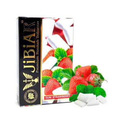 Табак Jibiar Gum Strawberry (Жвачка клубника)