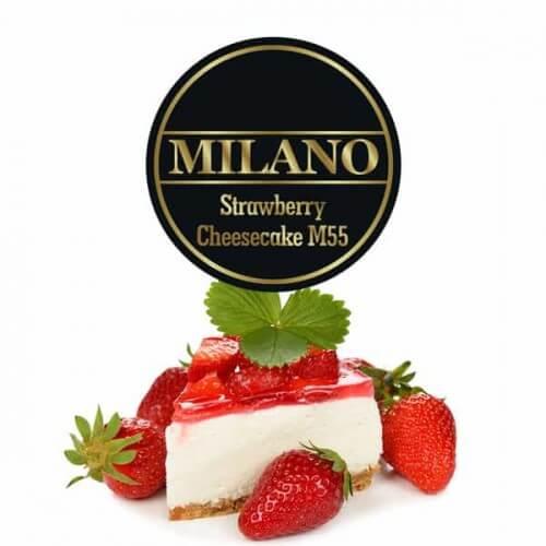 Табак Milano Strawberry Cheesecake M55 - Клубничный чизкейк