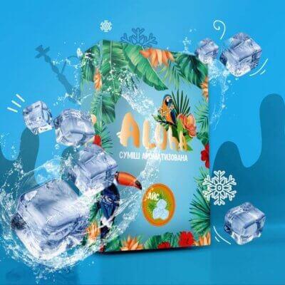 Безникотиновая смесь Aloha Лед 100 грамм