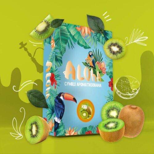 Безникотиновая смесь Aloha Киви 100 грамм