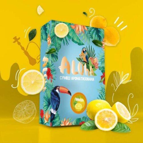 Безникотиновая смесь Aloha Лимон 100 грамм