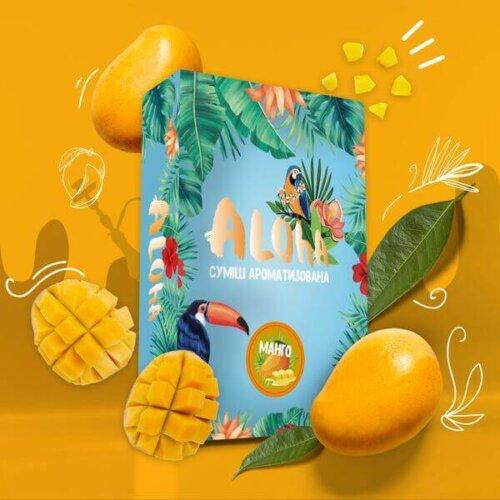 Безникотиновая смесь Aloha Манго 100 грамм