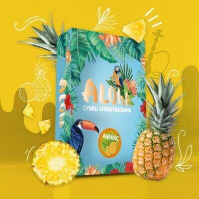 Безникотиновая смесь Aloha Ананас 100 грамм