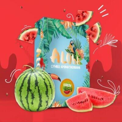 Безникотиновая смесь Aloha Арбуз 100 грамм