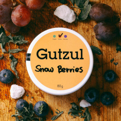 Табак Gutzul Snow Berries - Айс клубника виноград