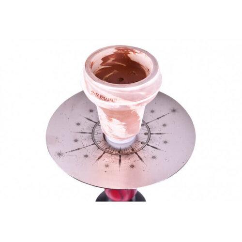 Тарелка и чаша Кальян 2x2 Pixel Purple Dark