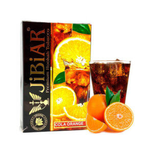 Табак Jibiar Cola Orange (Апельсин кола) 50 грамм
