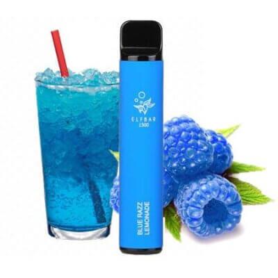 Elf Bar 1500 затяжек синий лемонад