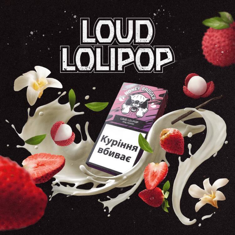 Табак Honey Badger Mix Loud Lolipop