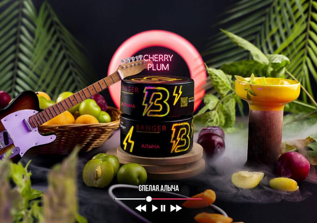 Табак Banger Cherry Plum (Алыча)