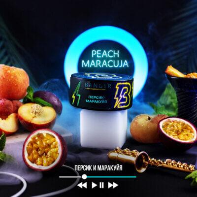 Табак Banger Peach Maracuja (Персик маракуйя)